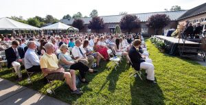 Approximately 300 people attended Carlisle School's graduation ceremony.