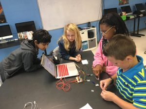 Middle School Coding Class