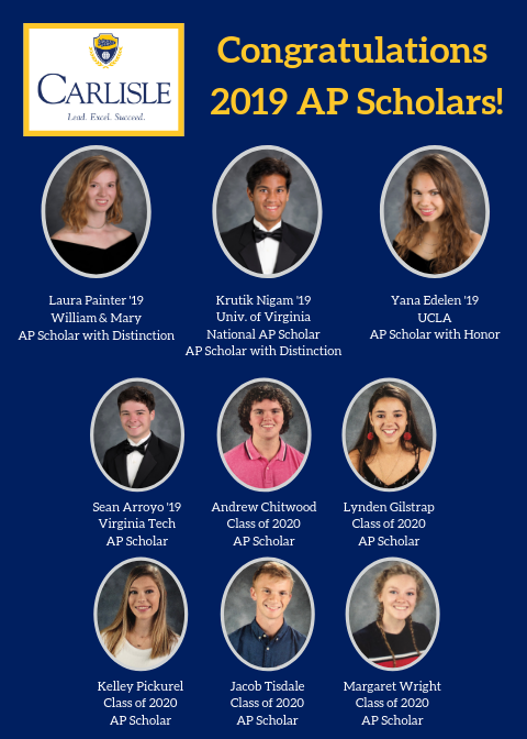 AP Scholar Award Winners