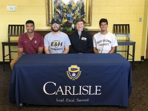 Carlisle Athletes Sign Letters of Intent