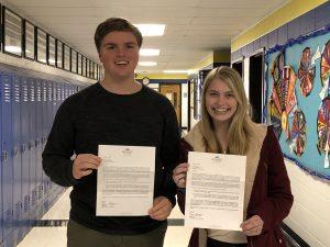 Students Earn Roanoke College Fellowships